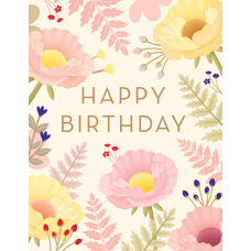 Birthday Card Small