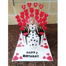 Doll Fondant Cake