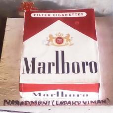 Marlboro Cigarette Cake