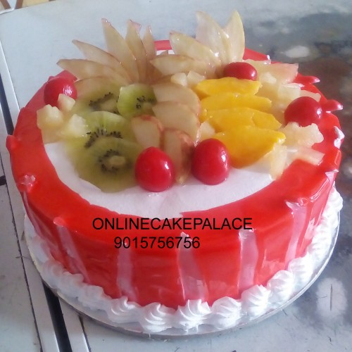 Cool Jelly Mix Fruit Cake Funny Birthday Cards Online Alyptdamsfinfo